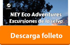 Folleto Excursiones de la selva